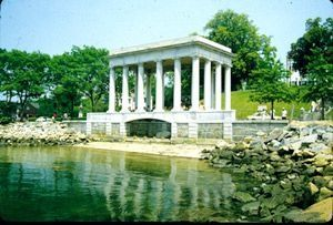 Plymouth Rock. Plymouth, MA