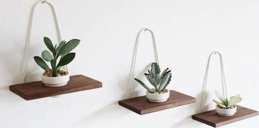 wall planters | Great Room | Pinterest
