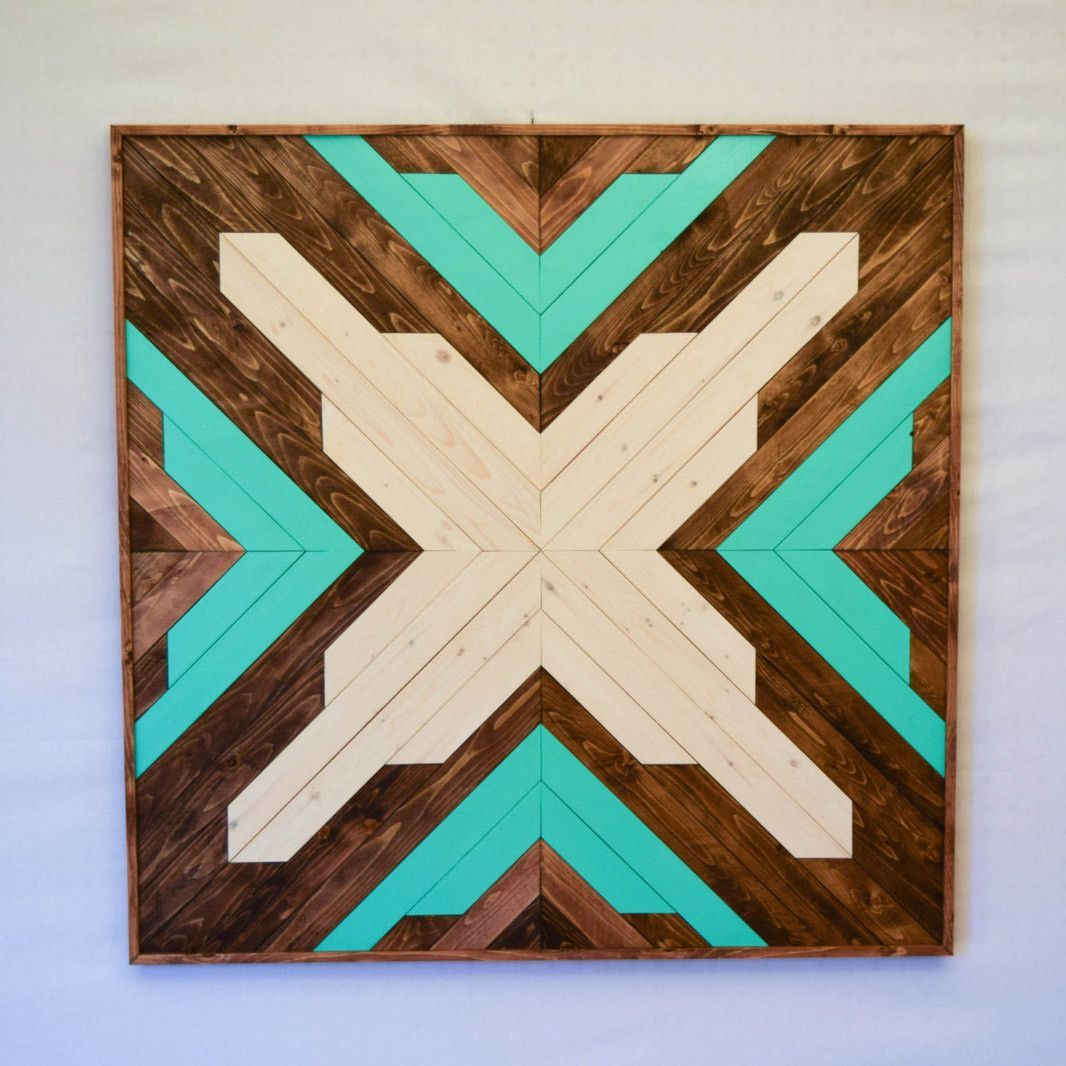 Aqua wood wall art hanging wood wall art and wood walls