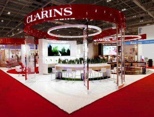 Exhibition Stand Design Presentation : תוצאת תמונה עבור clarins exhibition stand makeup