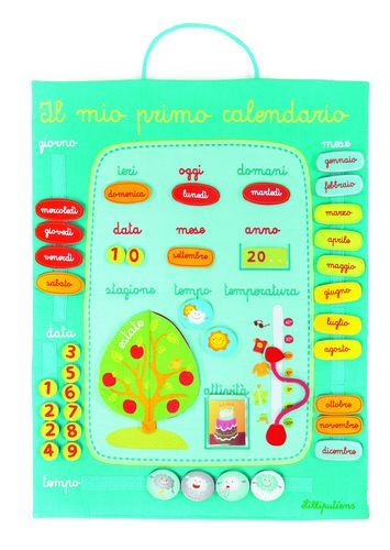 Primo Calendario.Il Mio Primo Calendario Lilliputiens Cittadelsole It