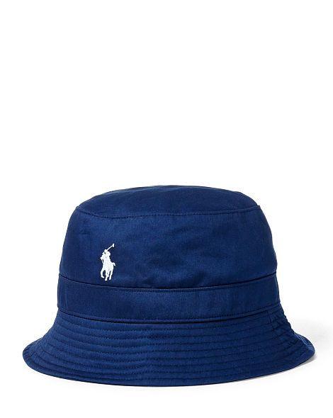04f2da8a5f758 Twill Bucket Hat - Polo Ralph Lauren Hats - RalphLauren.com