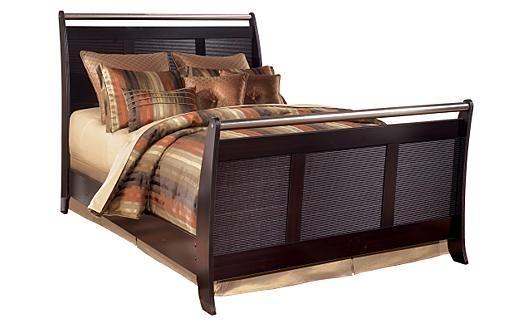 Zenfield Bedroom Bench Colors, King and Woods