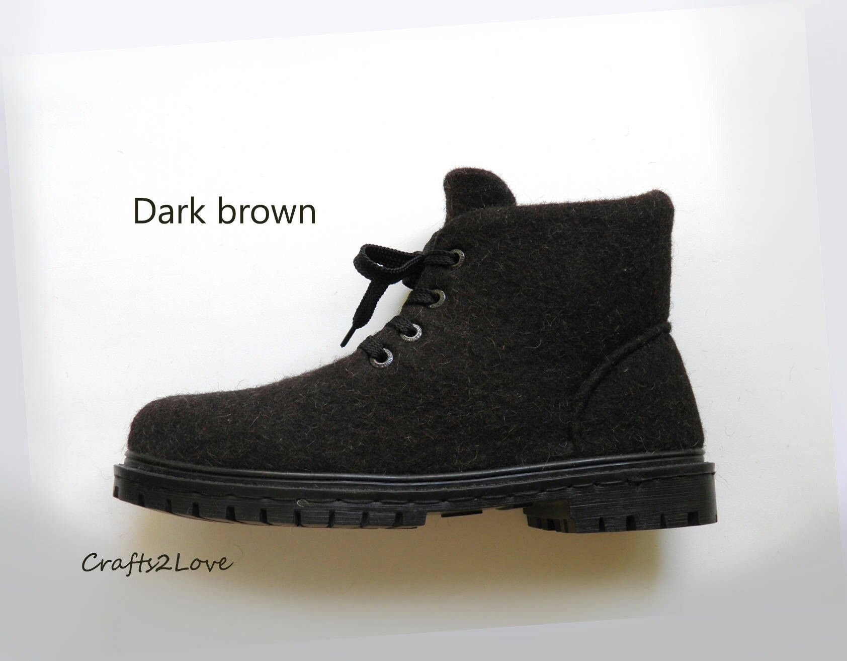 dcbfdae454831 Felted boots, eco style, mens shoes Etsy.com | I did it - Felted ...