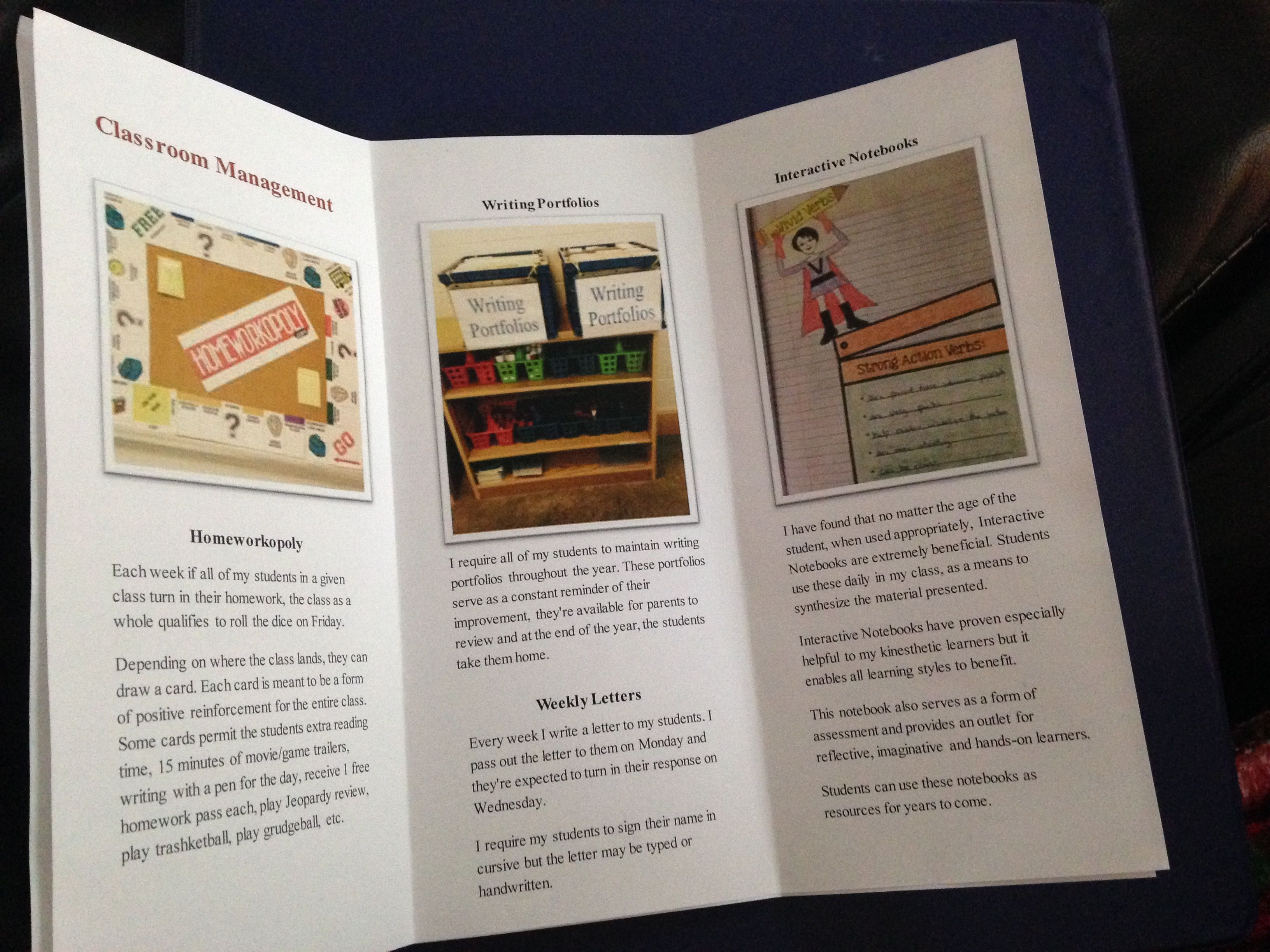 Create Personalized Brochure Leave With