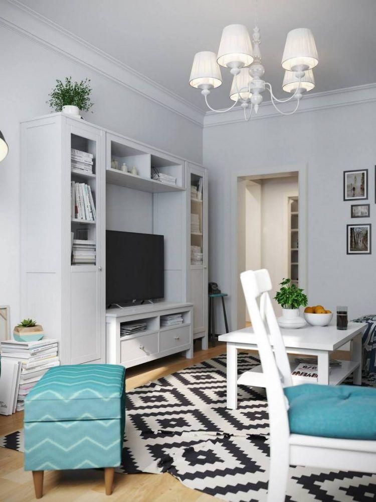 Otthonos, barátságos kis 41nm-es lakás IKEA bútorokkal és ...