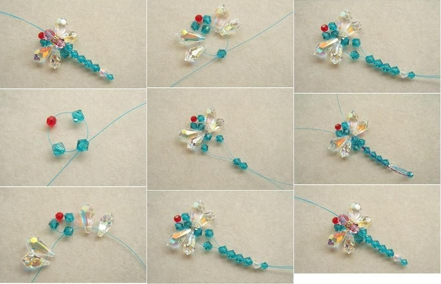 Diy beaded dragonfly diy tutorial dragonflies and project ideas how to make beaded dragonfly step by step diy tutorial instructions how to how solutioingenieria Images