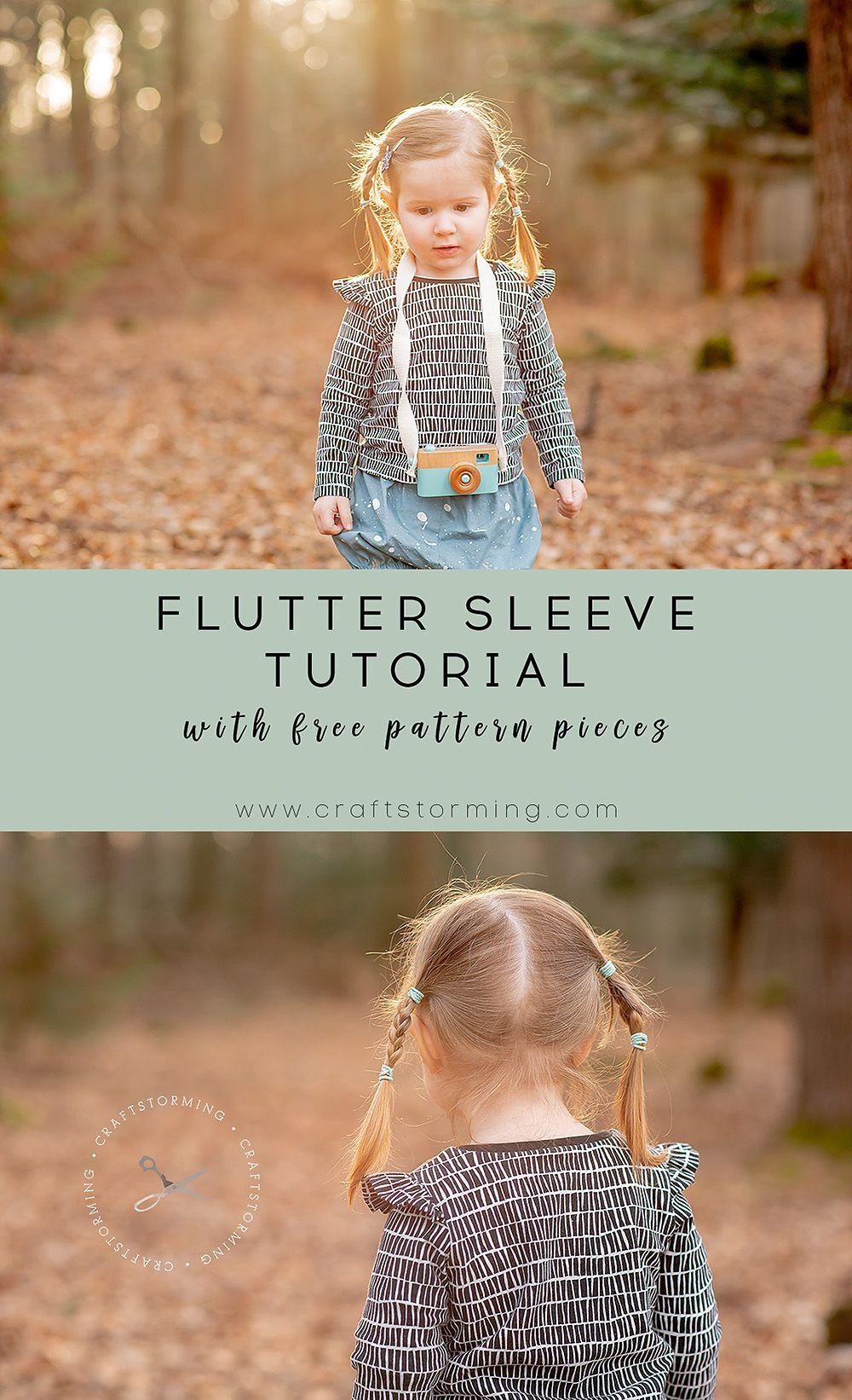 Rowan Tee Hacks Series: Flutter Sleeves Tutorial | June