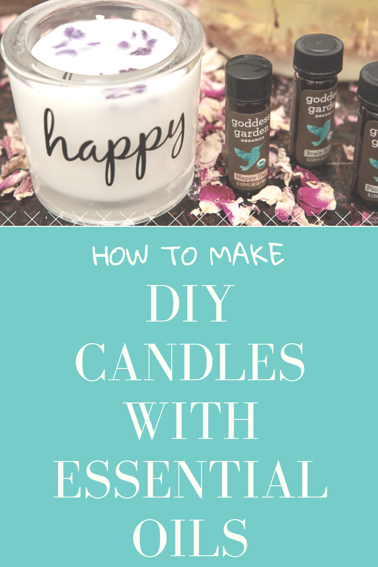 How to Make DIY Homemade Candles with Essential Oils (With