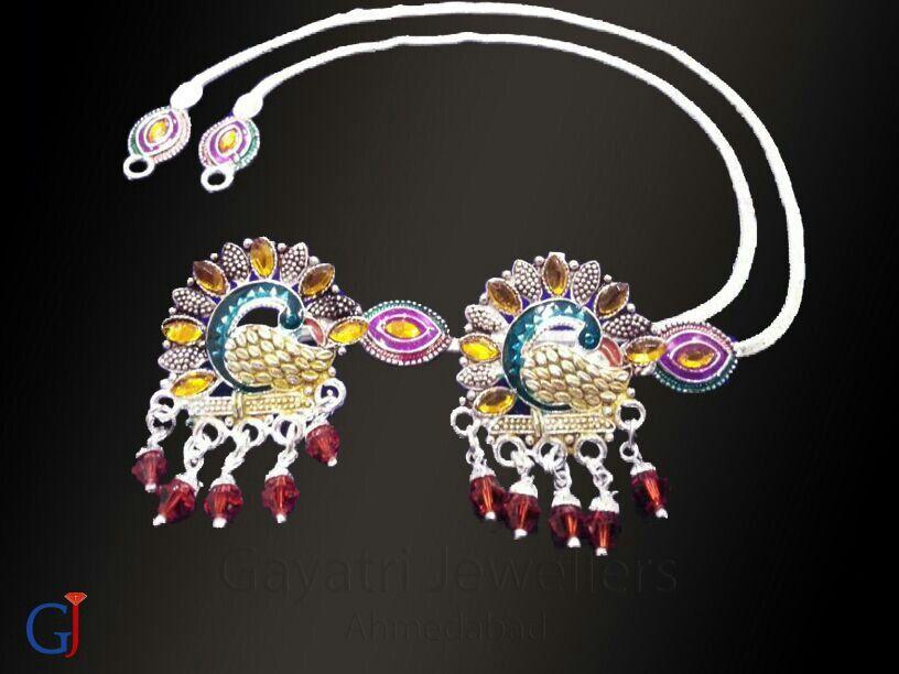 Peacock design fancy silver payal #munnipayal #broochpayal #Silver ...