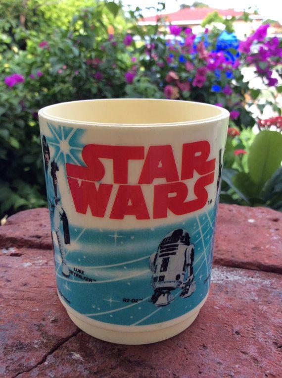 Star Wars Vintage Mug 1977 Stormtrooper Darth Vader Luke