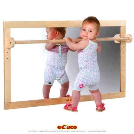 Miroir (127x69cm) | Little Babeeeees | Montessori bedroom ...