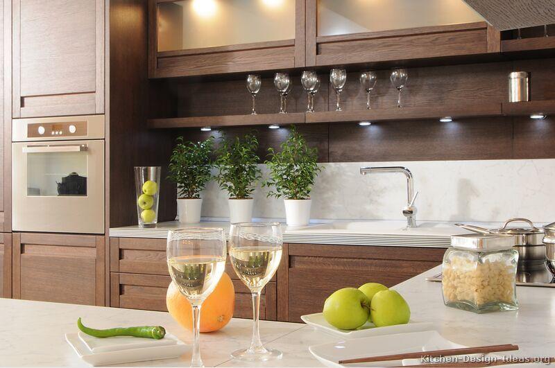Best Kitchen Idea Of The Day Modern Dark Wood Kitchens Love 400 x 300