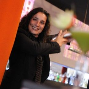 Sandrine Houdré-Gregoire - trend setting mixologist created Cocktails & the City for Oriflame