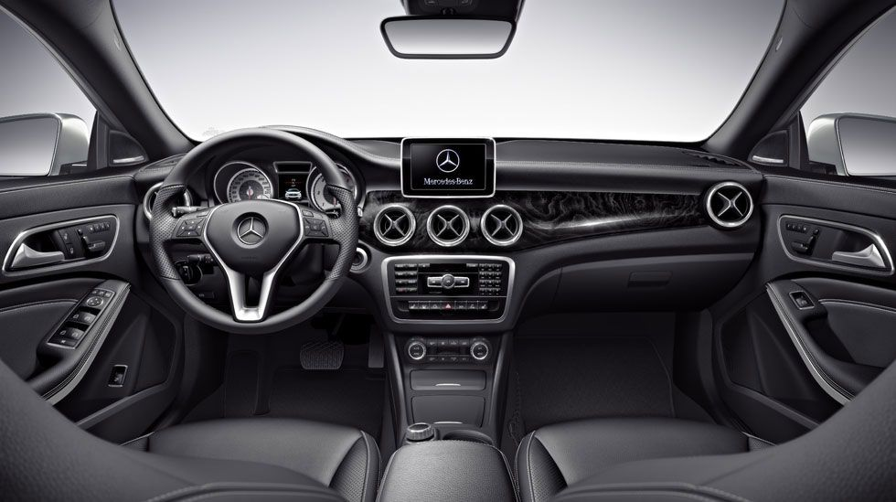 2014 mercedes benz cla class - Mercedes Benz 2014 Interior
