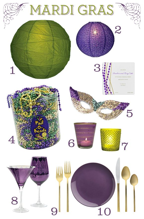 HOW TO Throw A Mardi Gras Party HowTo DIY