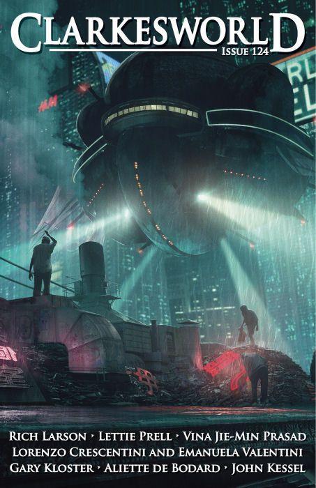 Clarkesworld Magazine - Science Fiction & Fantasy : Cover