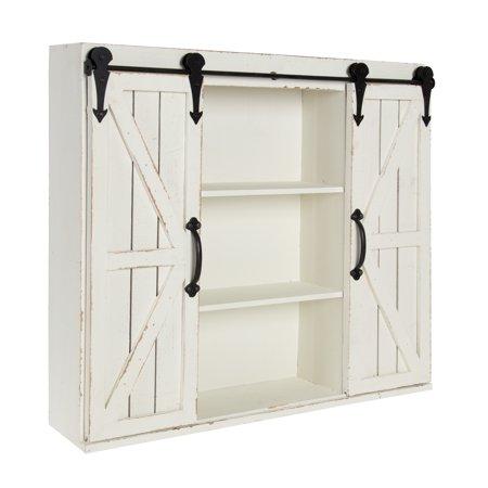 Home Wall Storage Cabinets Barn Doors Sliding Barn Storage