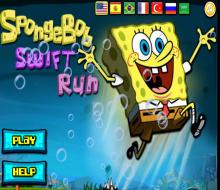 العاب سبونج بوب Spongebob Games Spongebob Ran Games