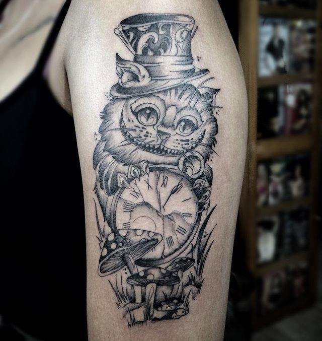Tatuagem, Tatuagem Nintendo, Alice