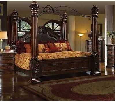 Canopy Bed King Size Wood Canopy Bedroom Sets King Size Bedroom Sets King Bedroom Sets