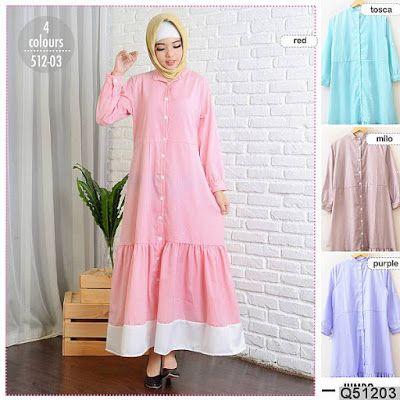Baju Gamis Muslim Naraya Fashion Gamis Muslim Duyung Gamis