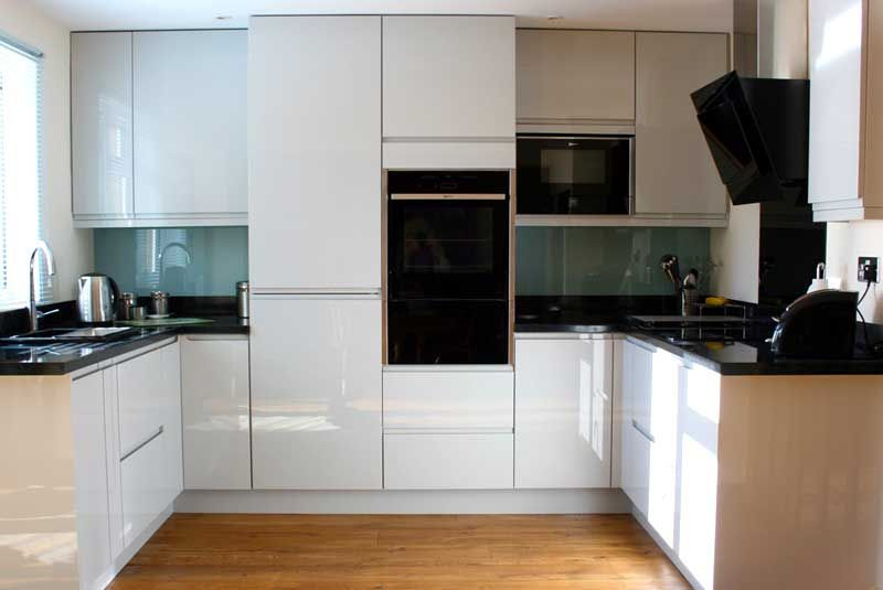 Best An Innova Luca Gloss Dove Grey Handleless Kitchen Real 400 x 300