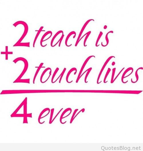 Quotes about teachers   Special education quotes, Math ...