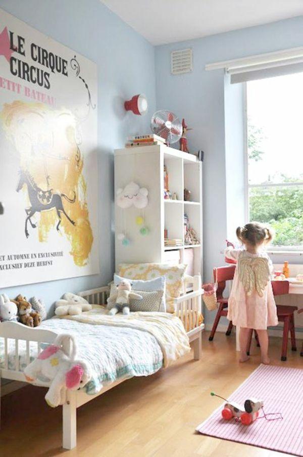 Farbideen für Kinderzimmer Kreieren Sie eine coole