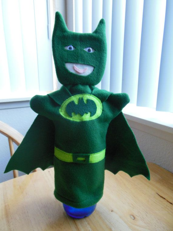 Hey, I found this really awesome Etsy listing at https://www.etsy.com/listing/197172458/green-batman-hand-puppet