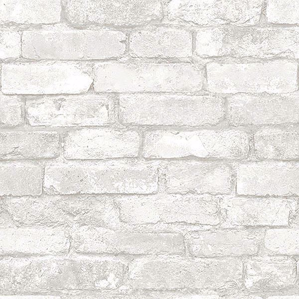 Grey And White Brick Peel And Stick Wallpaper Textured Brick Wallpaper Brick Effect Wallpaper Fake Brick Wallpaper