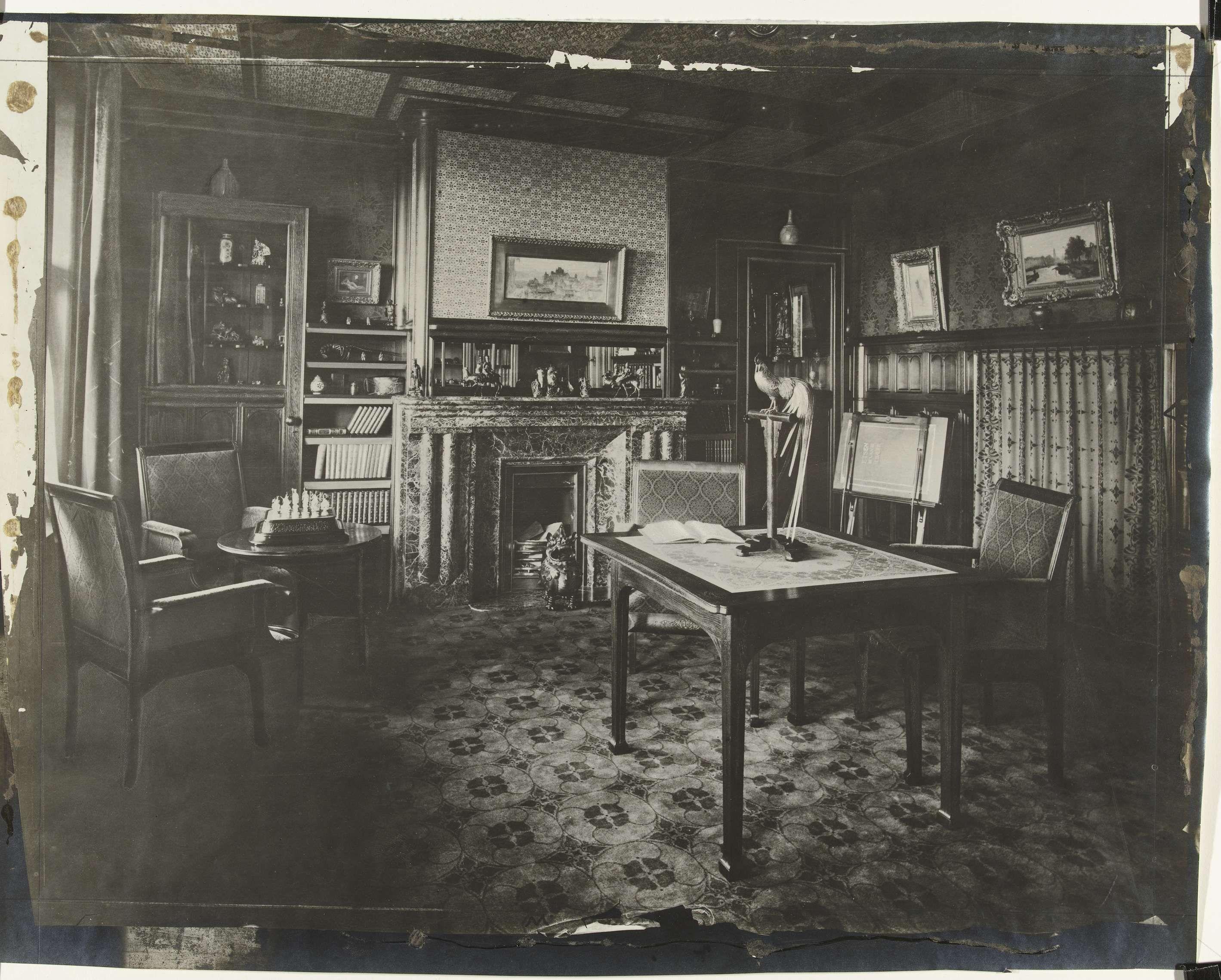 August Frederik Willem Vogt | Interieur van het huis van E.R. ...