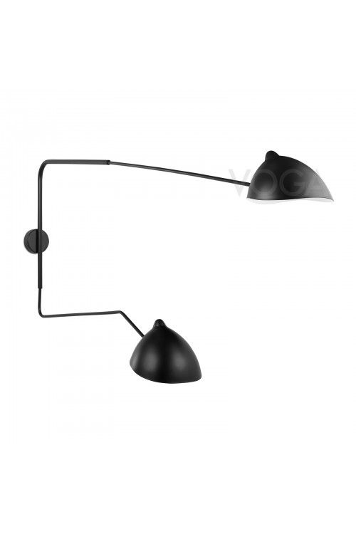 Serge Mouille Inspiration Wall Sconce Contemporary Wall Lamp