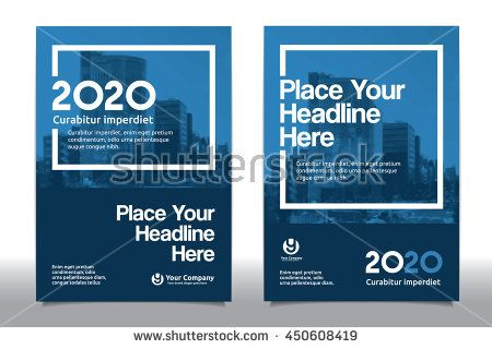 Blue Color Scheme with City Background Business Book Cover Design