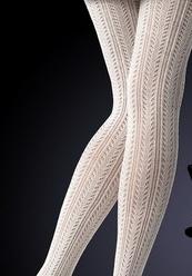 get online super quality super popular collant en laine écru de qualité … | fishnets en 2019 ...