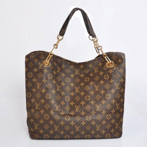 4c5e4d564600 Louis Vuitton Handbag Monogram Canvas Wish M95686 On Sale