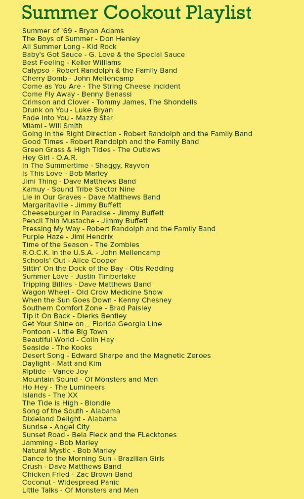 Find music for your next party for instance this summer for Classic house playlist