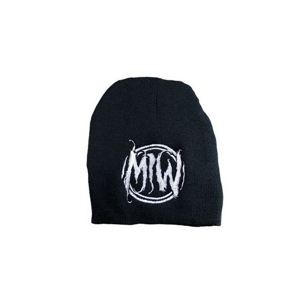 Motionless in white beanie