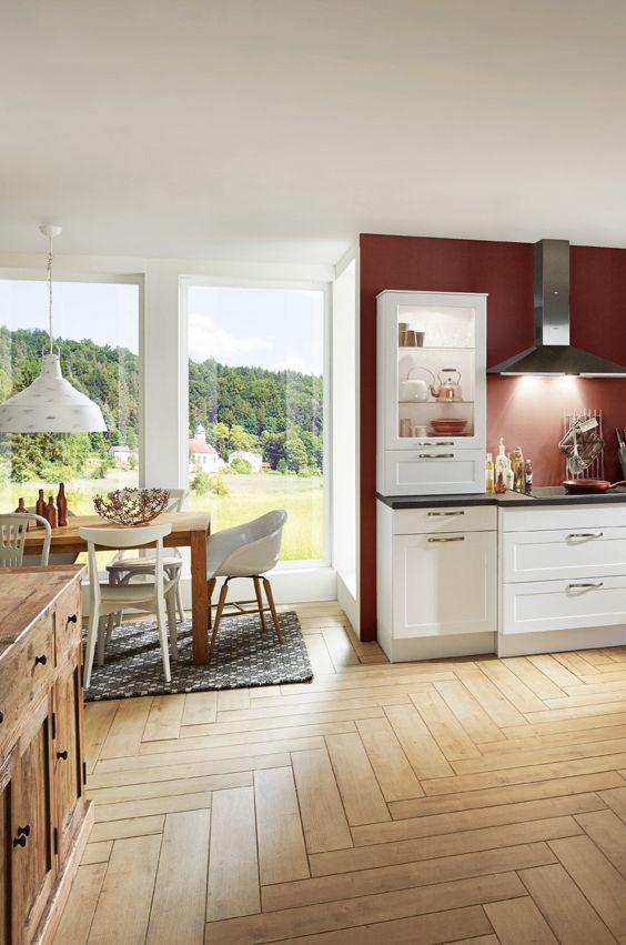 Romantische Küche in Weiß Romantik Küche Pinterest Kueche and In - küchenmöbel für kleine küchen