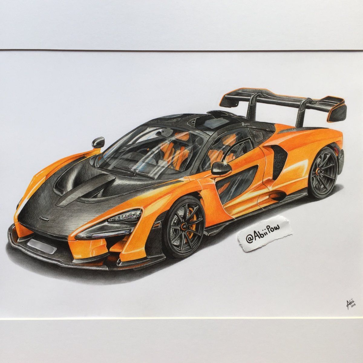 I was commissioned by my local McLaren dealer in the UK to
