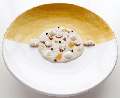 Zuppetta dolce di grano saraceno e farro perlato al ricordo di pastiera napoletana