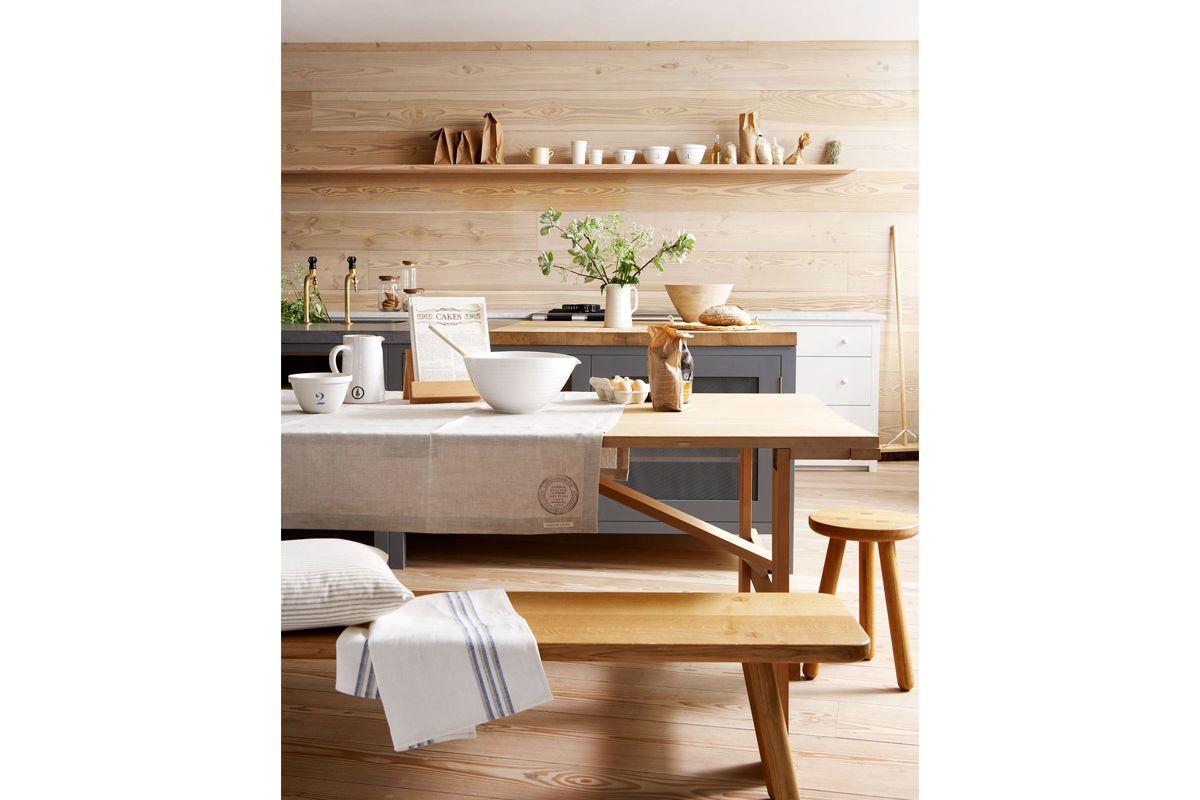 Panche Legno Per Cucina.1 Parete In Legno Cucina Tavolo Legno Con Panca Kitchens Kitchen