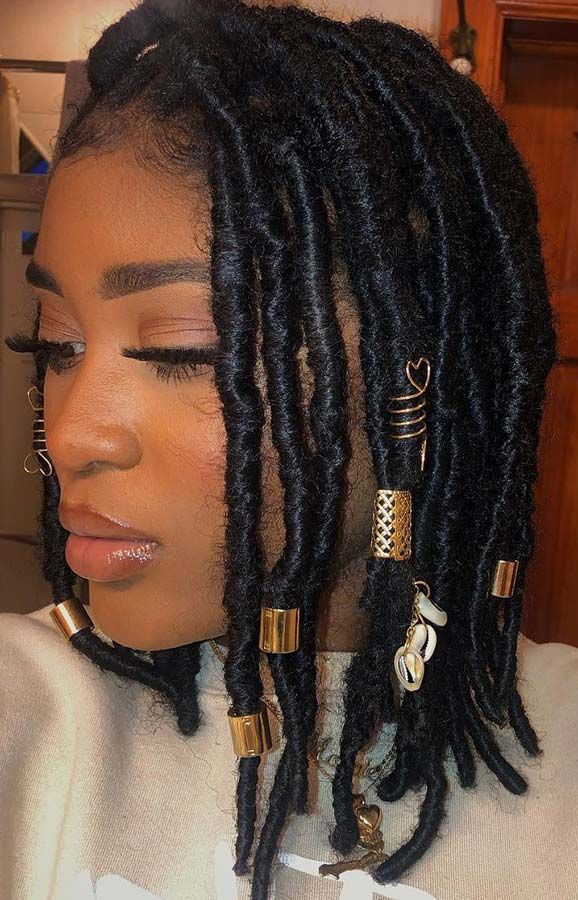 25 Popular Black Hairstyles We Re Loving Right Now Page 2 Of 2 Stayglam Faux Locs Hairstyles Hair Styles Natural Hair Styles
