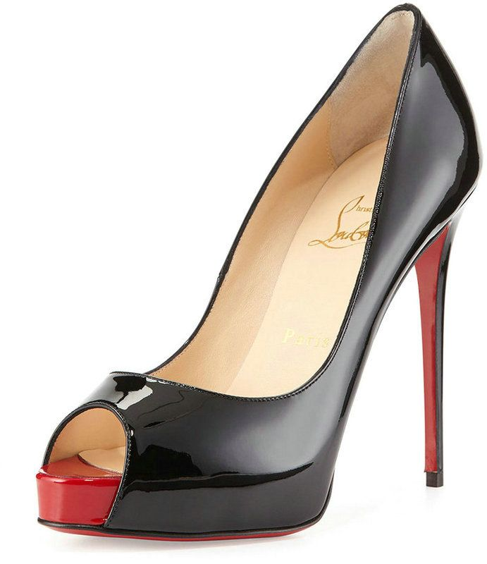 christian louboutin pigalle 120mm pumps silver