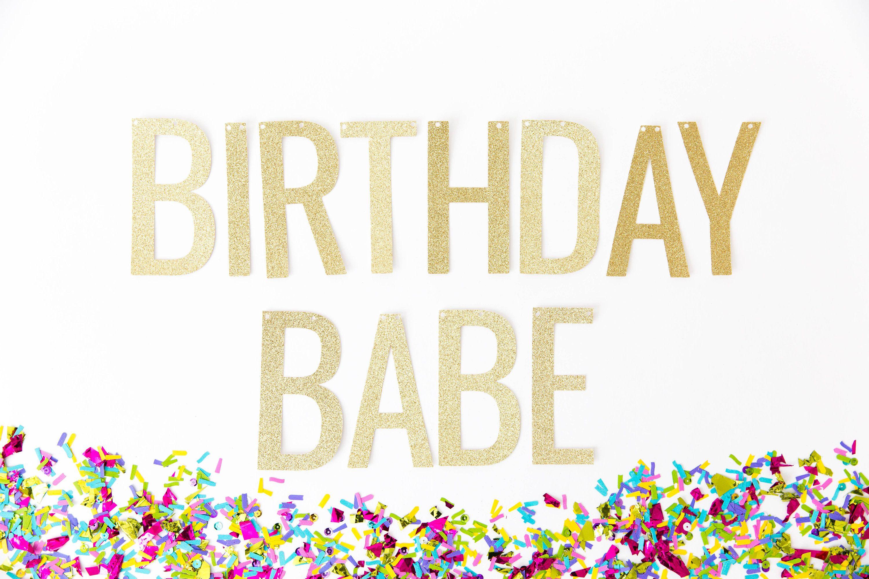 Adult birthday banner