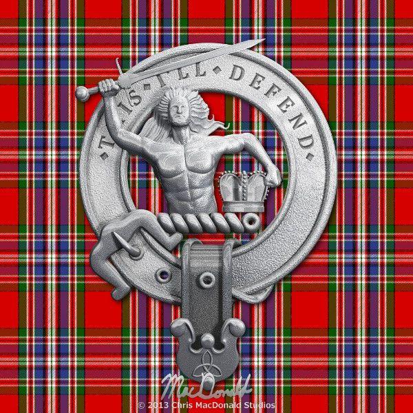 Clan MacFarlane Crest | Chris MacDonald Studios