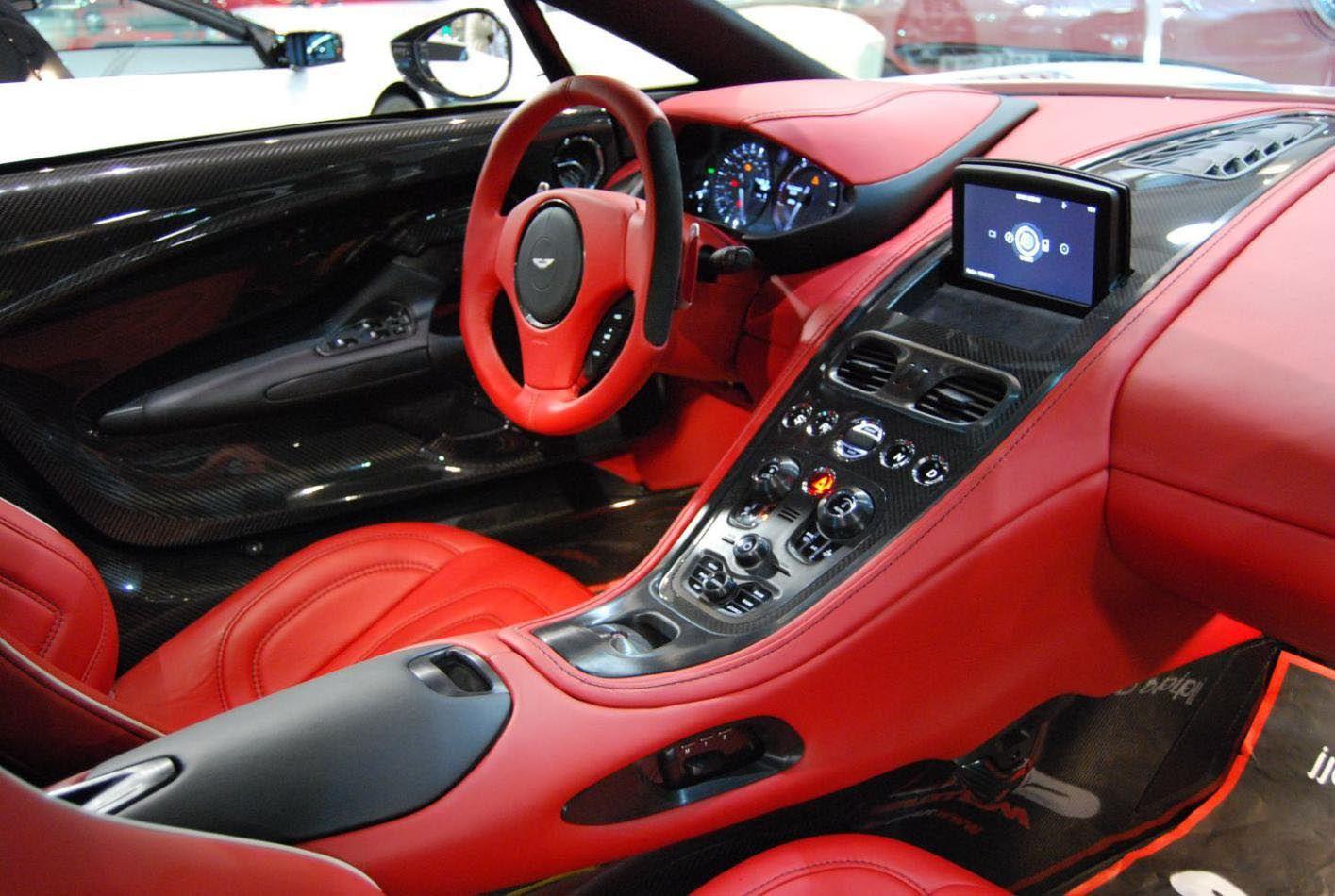 Review Aston Martin One 77 Aston Martin Aston Martin Interior Aston