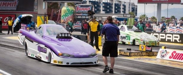 Casper's Hool competes and wins on the funny car circuit