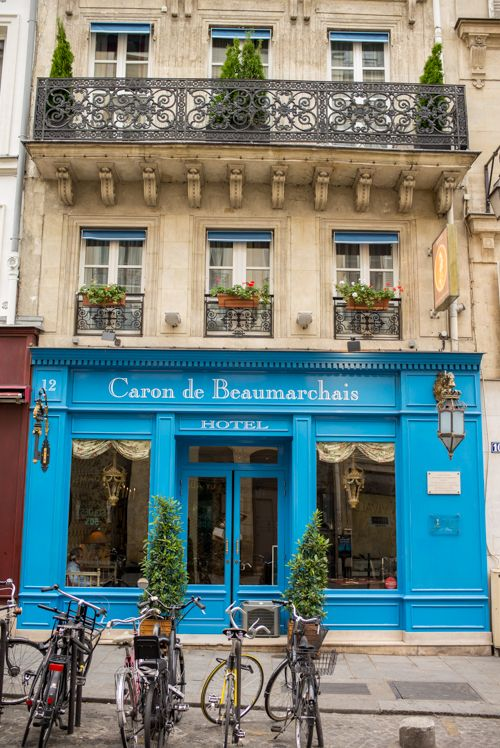 The Marais, Paris, France