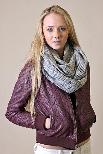 Amazon.com: Viverano Pure Organic Cotton Knit Infinity Scarf, Soft, Eco-Friendly, Non-Toxic (Midnight Blue / Total Eclipse): Clothing